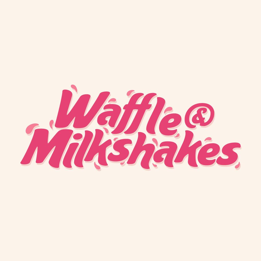 Waffles & Milkshakes B23 Online Takeaway Menu Logo