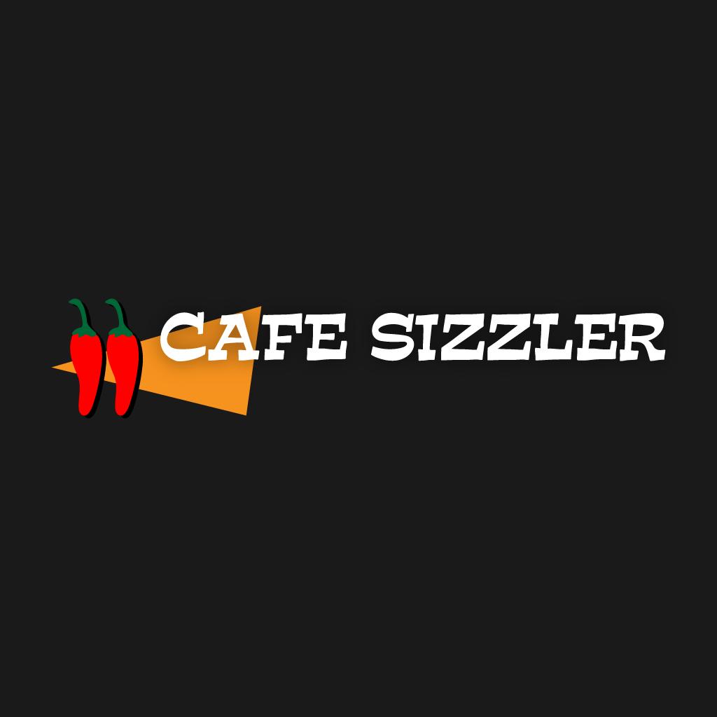 Cafe Sizzler Online Takeaway Menu Logo