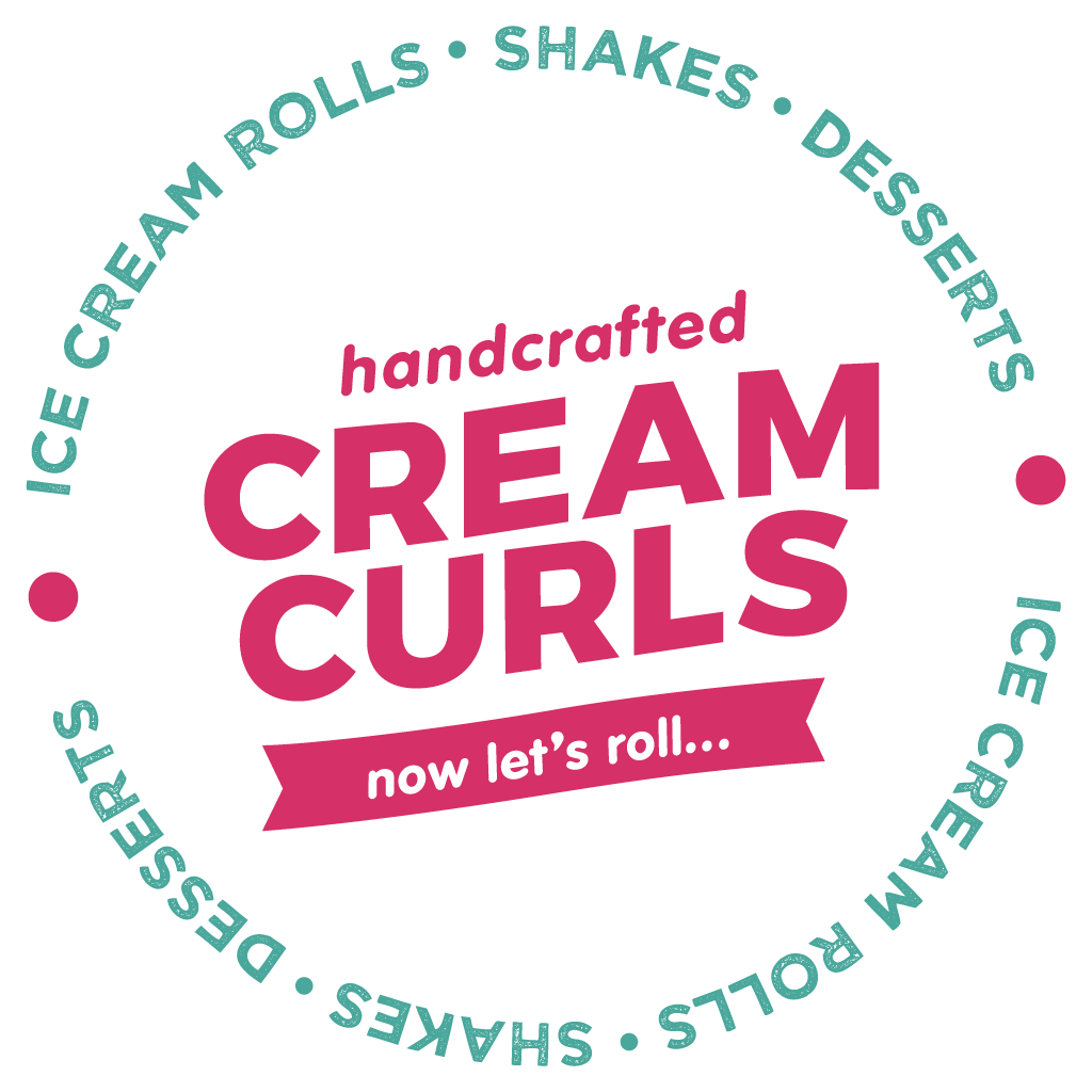 Cream Curls Sunderland  Online Takeaway Menu Logo