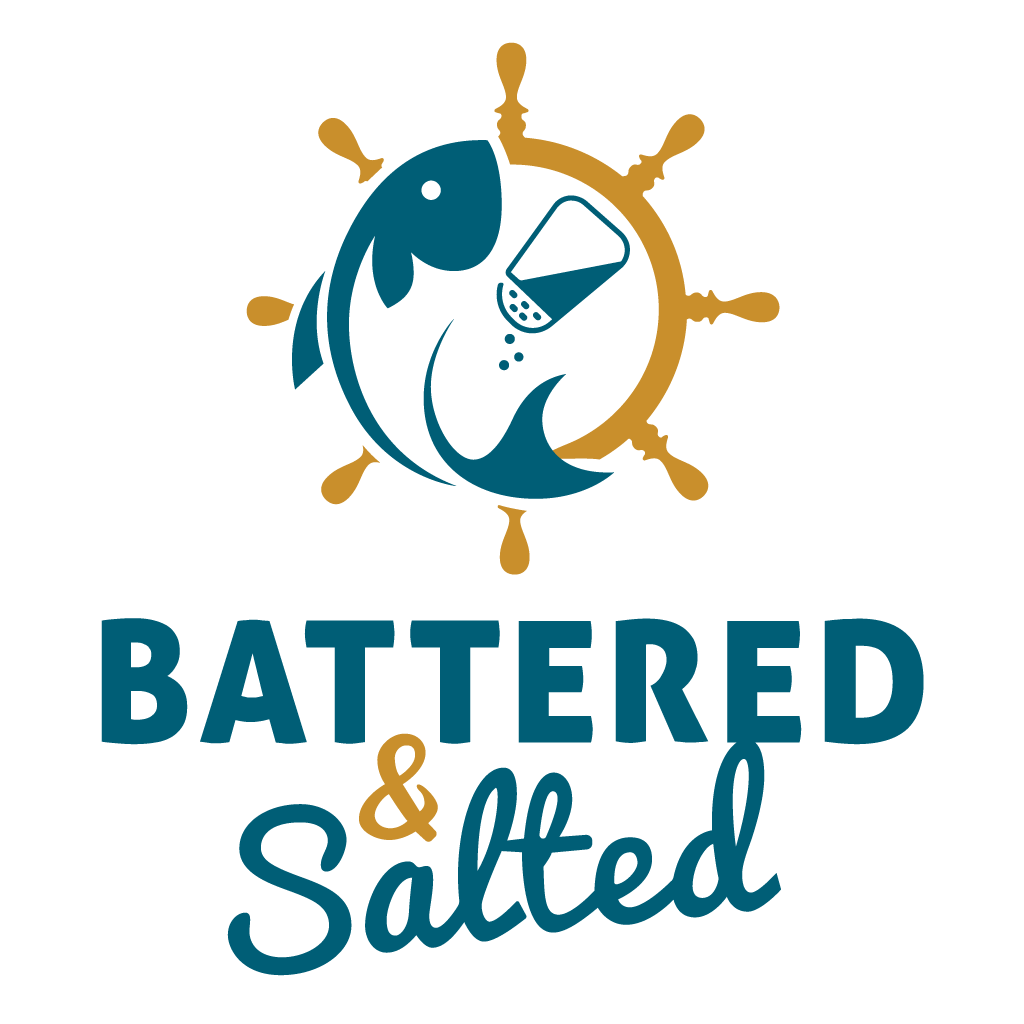 Battered & Salted  Online Takeaway Menu Logo