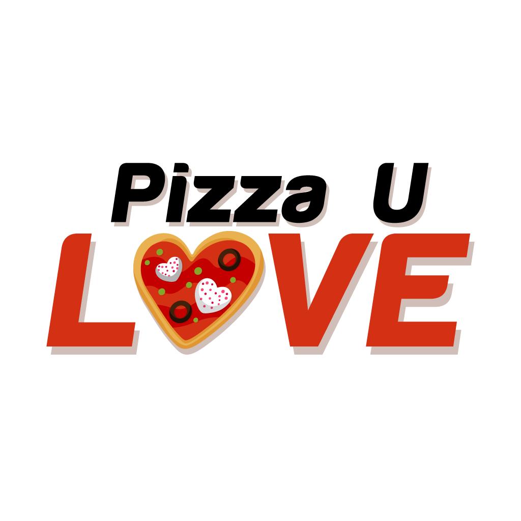 Pizza U Love Online Takeaway Menu Logo