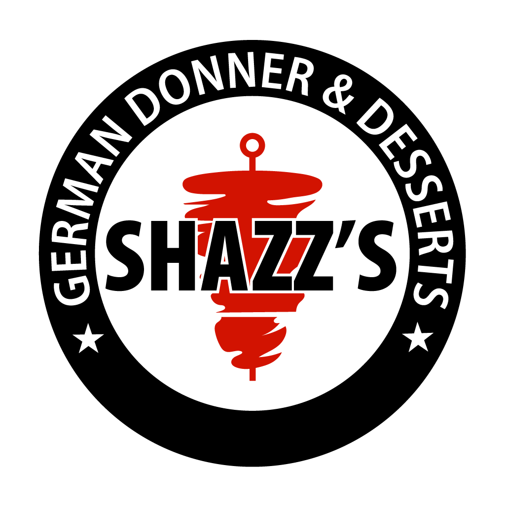 Shazz's German Donner & Desserts Online Takeaway Menu Logo