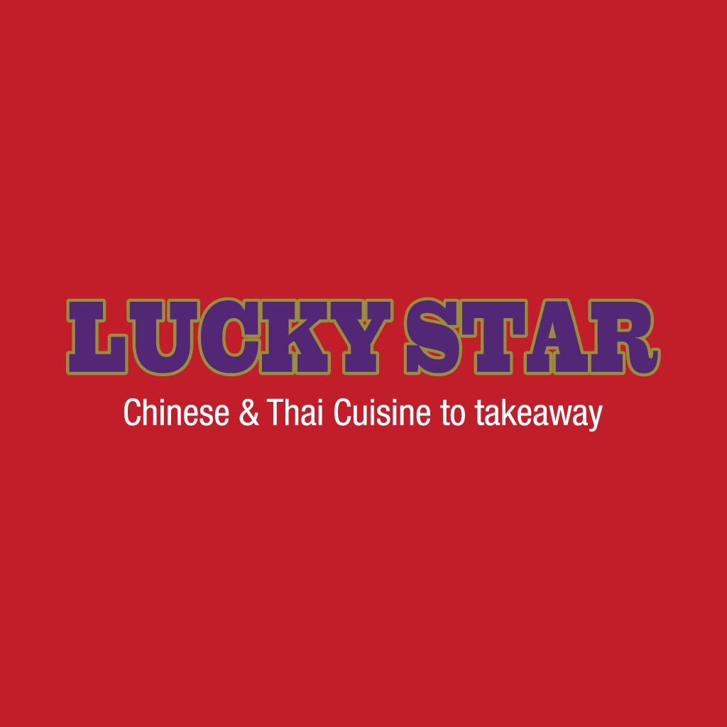 Lucky Star Online Takeaway Menu Logo