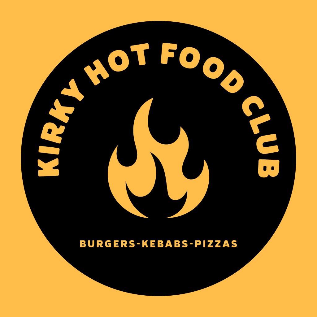 Kirky Hot Food Club Online Takeaway Menu Logo