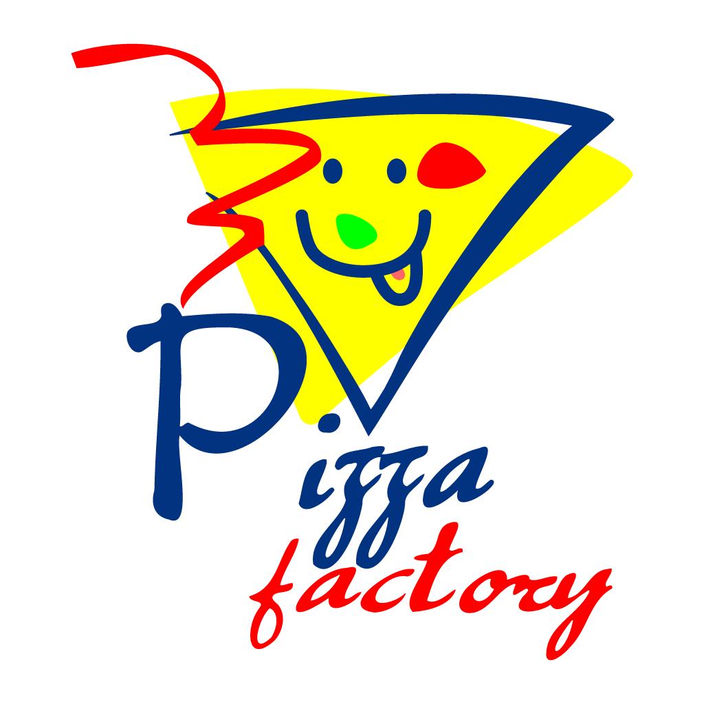 Pizza Factory Online Takeaway Menu Logo