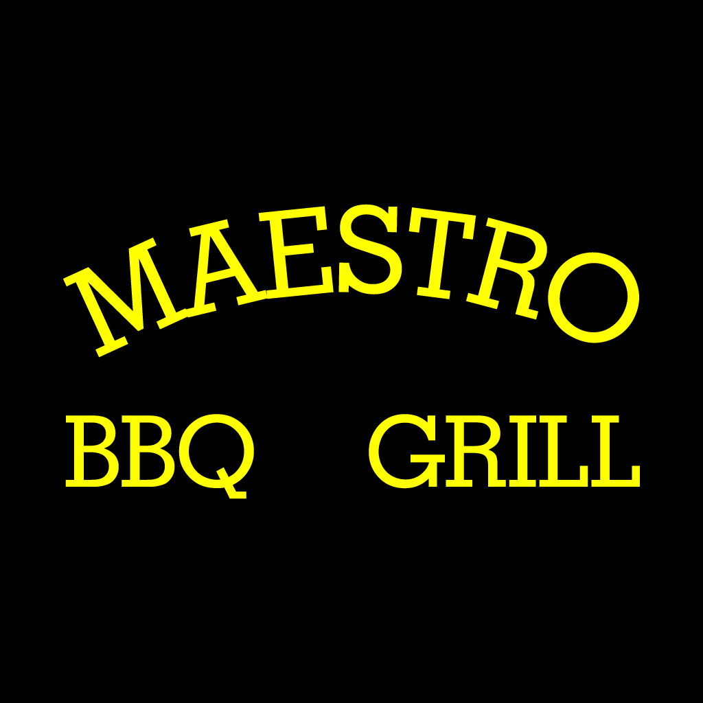 Maestro BBQ & Grill Online Takeaway Menu Logo