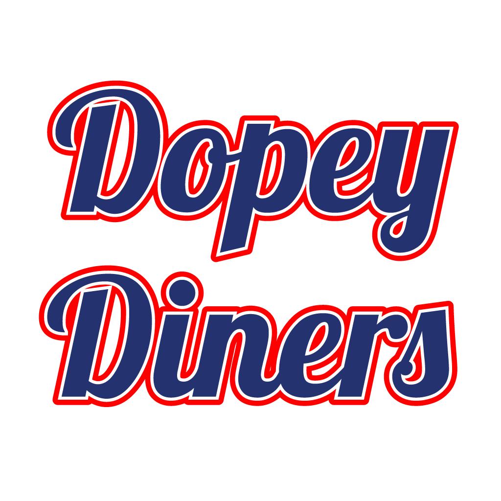 Dopey Diners Online Takeaway Menu Logo