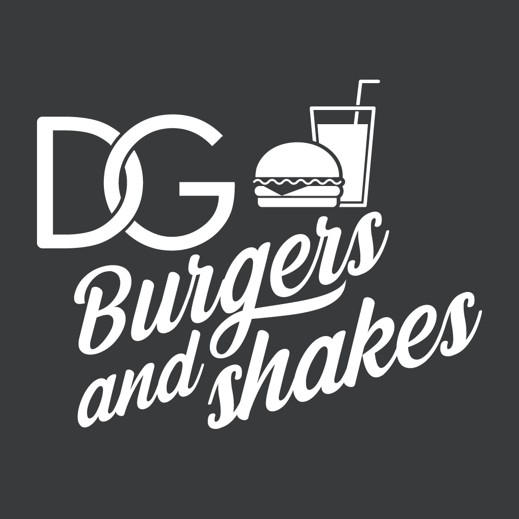 DG Burgers and Shakes Online Takeaway Menu Logo