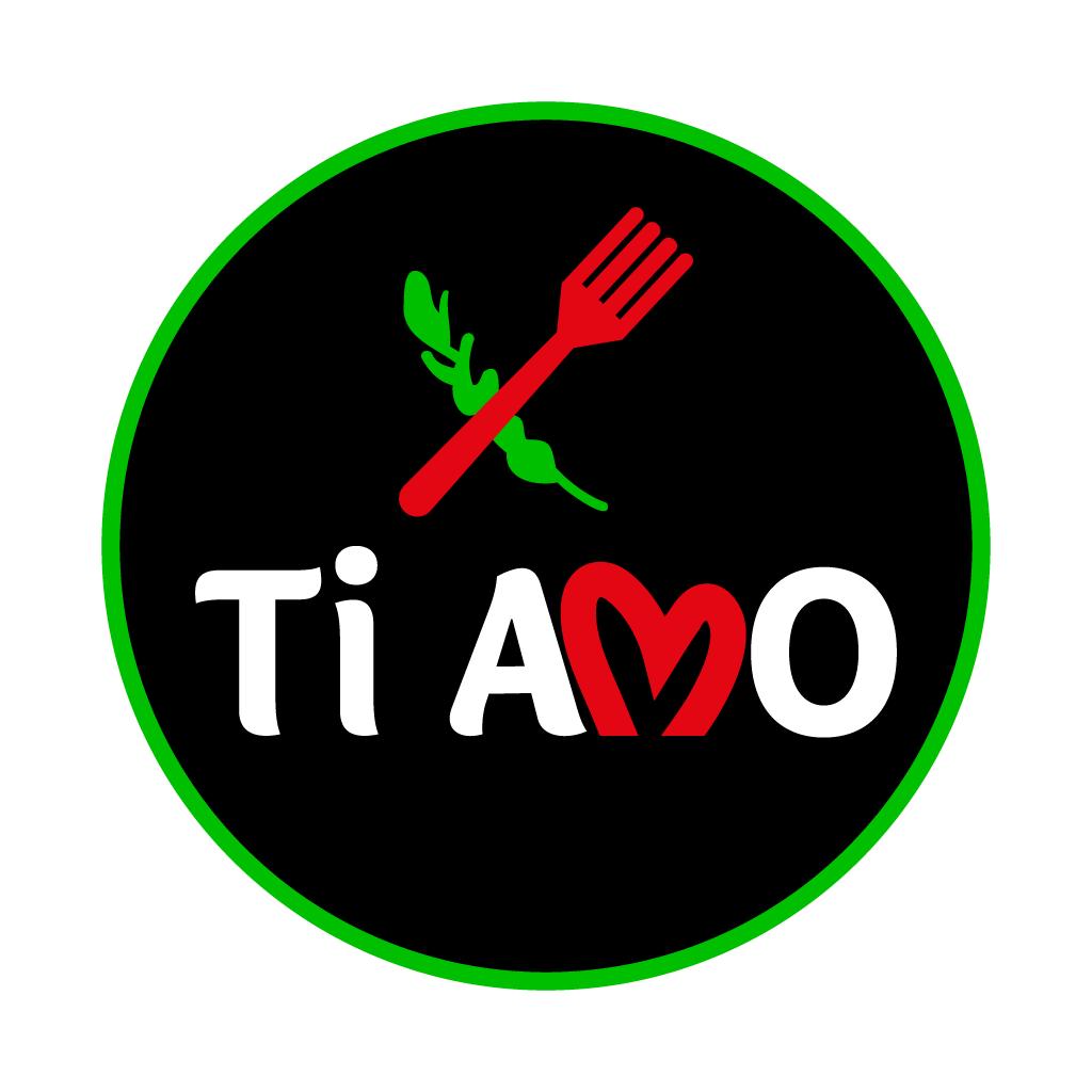 Ti Amo Zara Online Takeaway Menu Logo