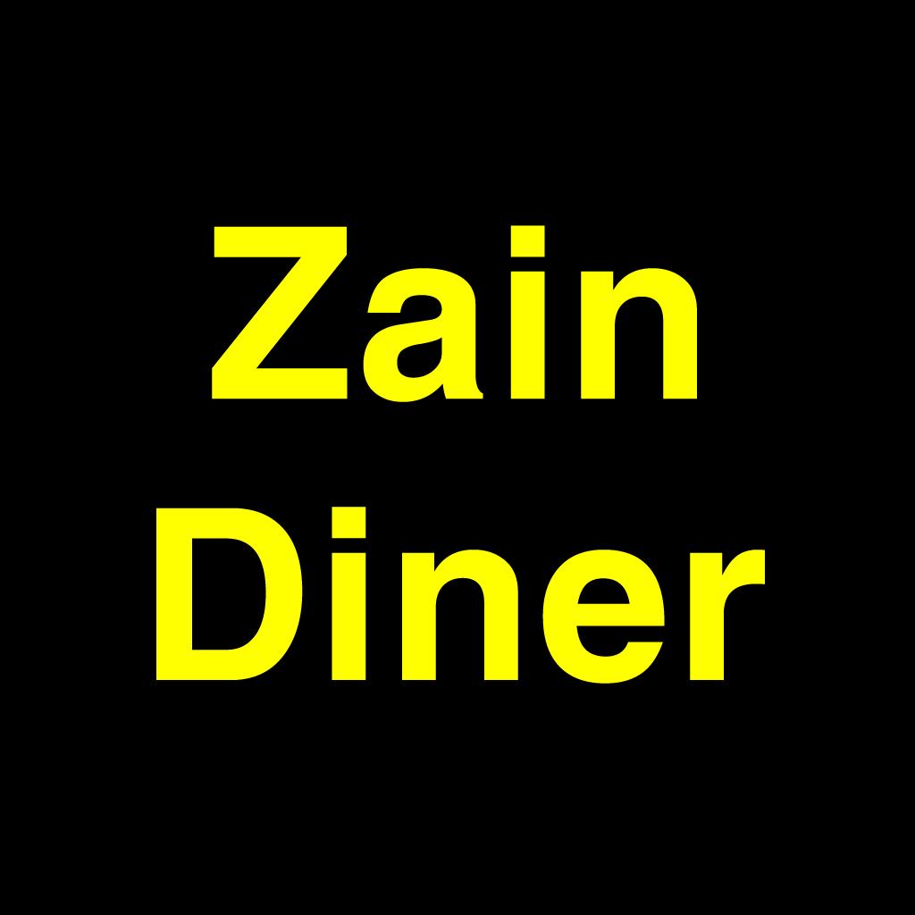 Zain Diner Online Takeaway Menu Logo