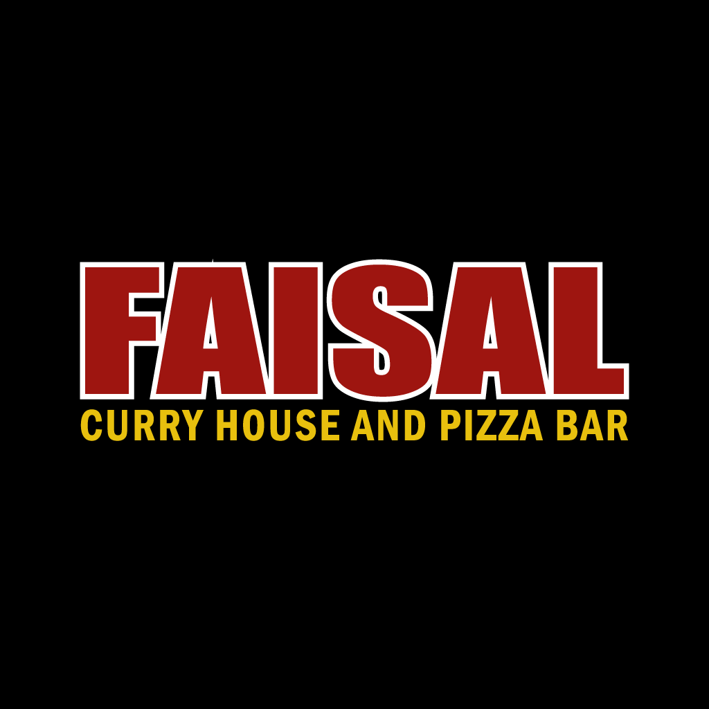 Faisal Curry House and Pizza Bar  Online Takeaway Menu Logo
