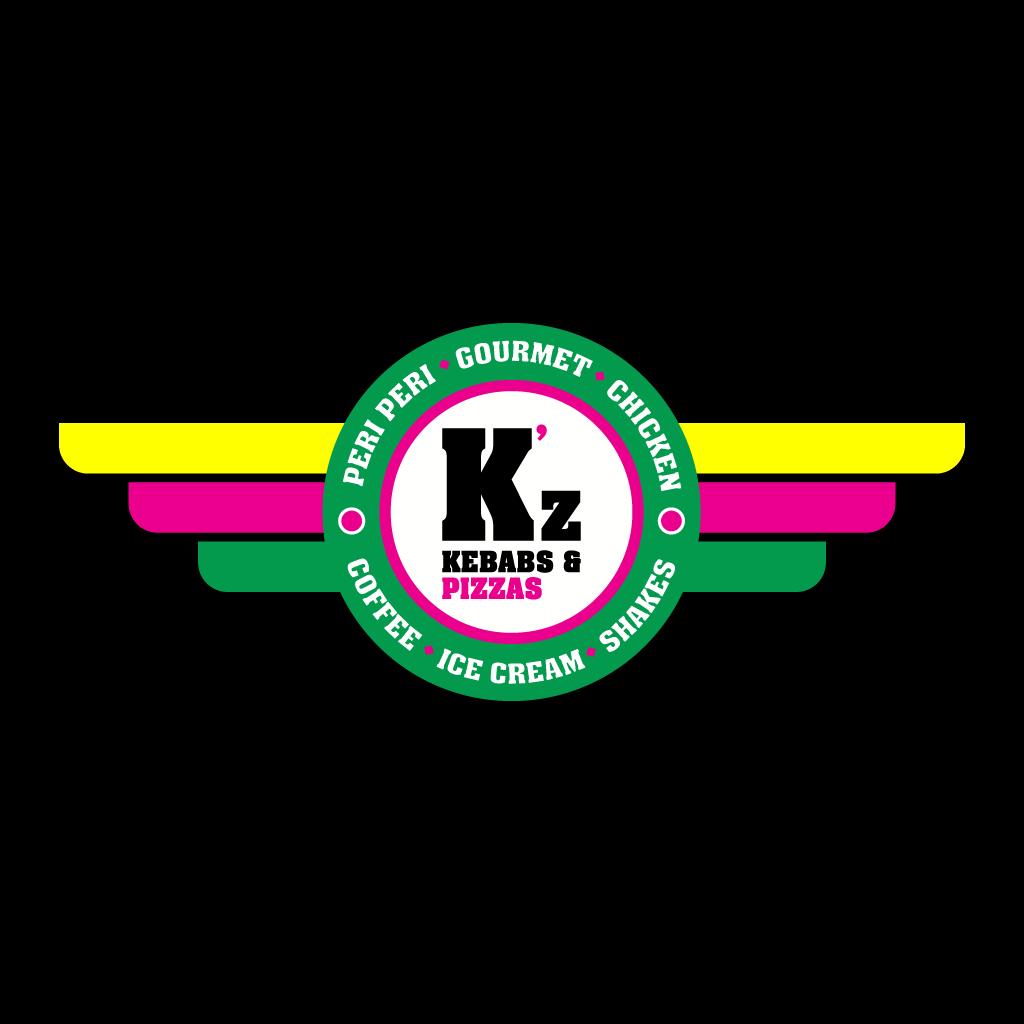 K'z Kebab & Pizza Online Takeaway Menu Logo
