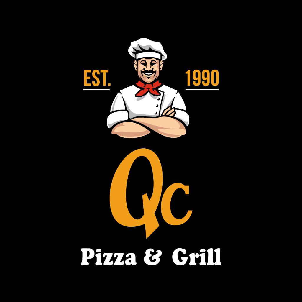 QC Pizza & Grill Online Takeaway Menu Logo