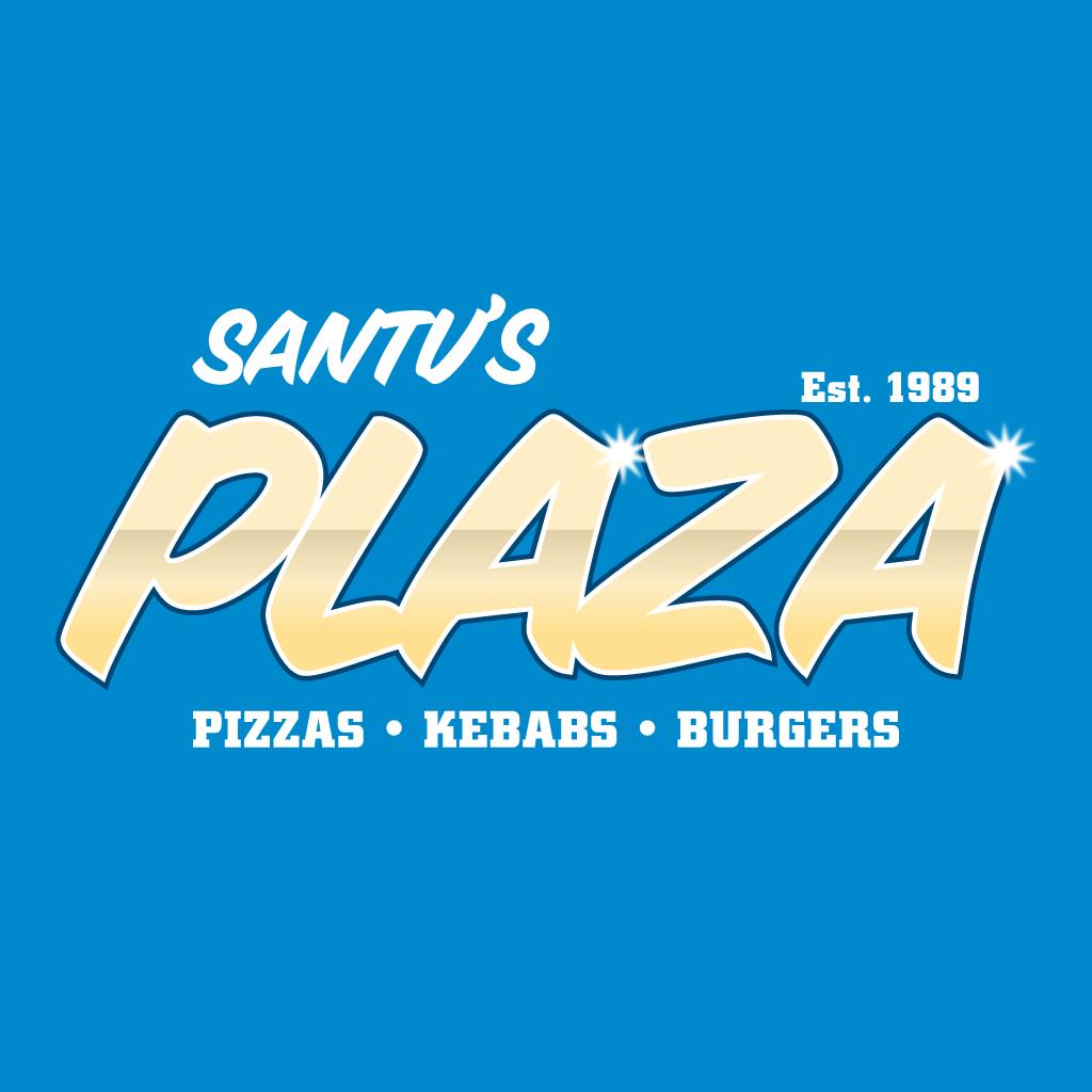 Santu's Plaza  Online Takeaway Menu Logo