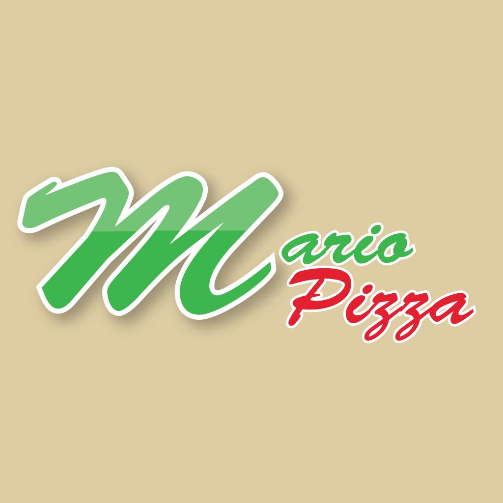 Mario Pizza Online Takeaway Menu Logo