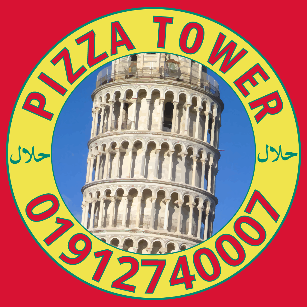 Pizza Tower Online Takeaway Menu Logo
