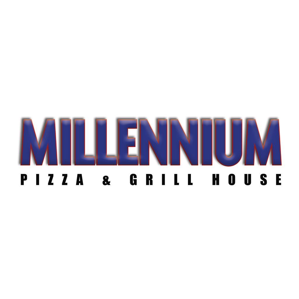 Millennium Pizza & Grill House Online Takeaway Menu Logo