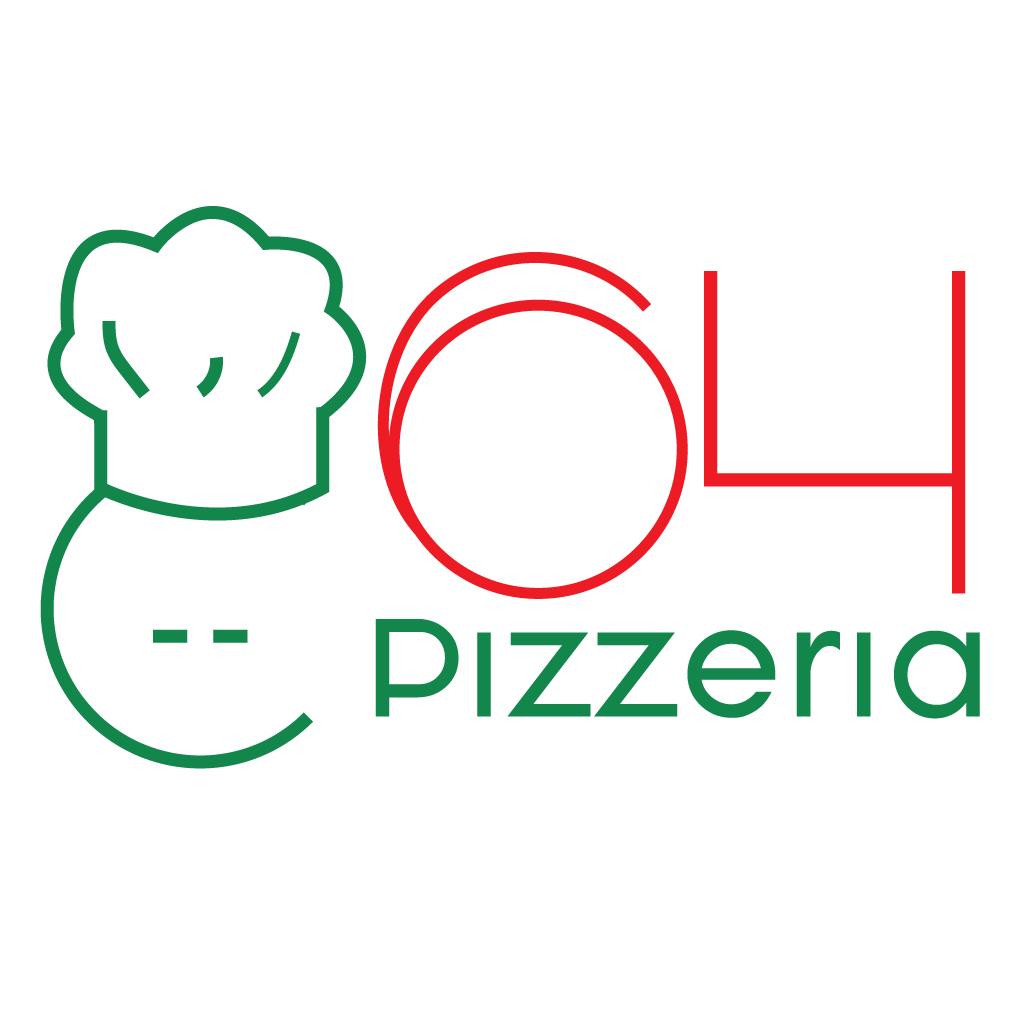 64 Pizzeria Online Takeaway Menu Logo