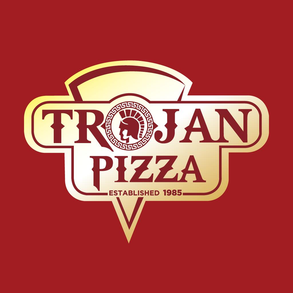 Trojan Pizza Online Takeaway Menu Logo