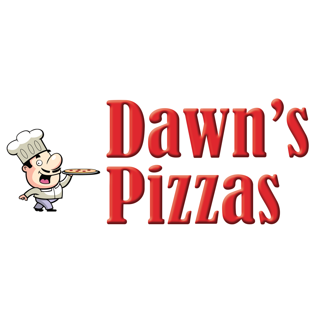 Dawns Pizzas Online Takeaway Menu Logo