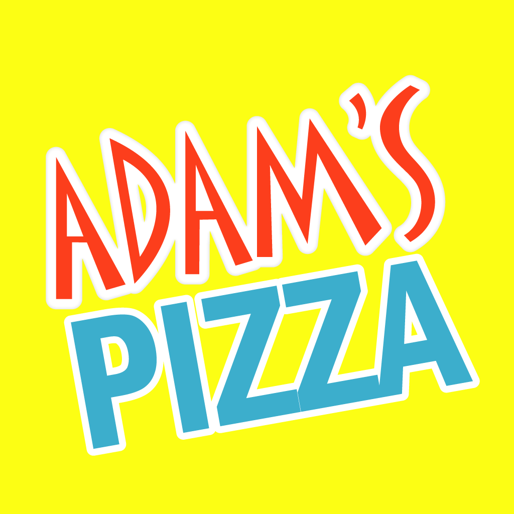 Adam's Pizza Online Takeaway Menu Logo