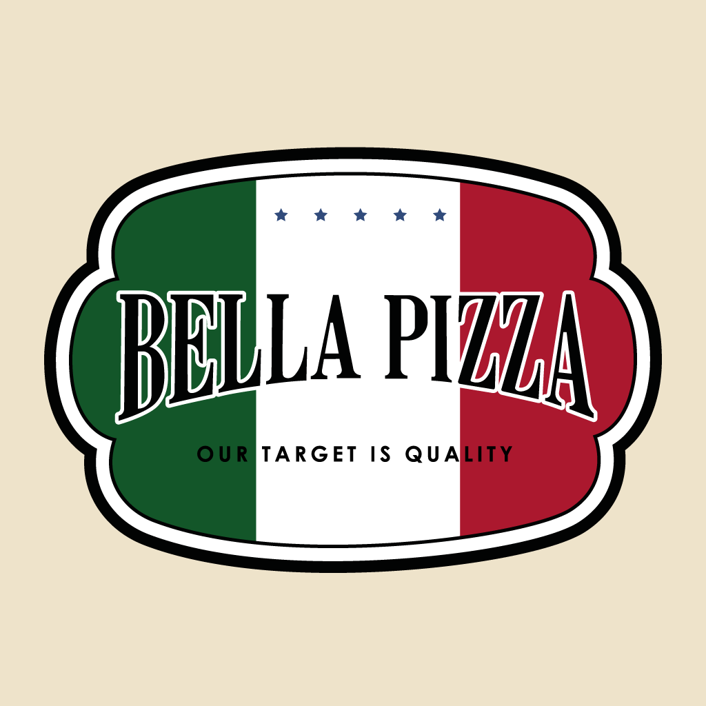 Bella Pizza Online Takeaway Menu Logo