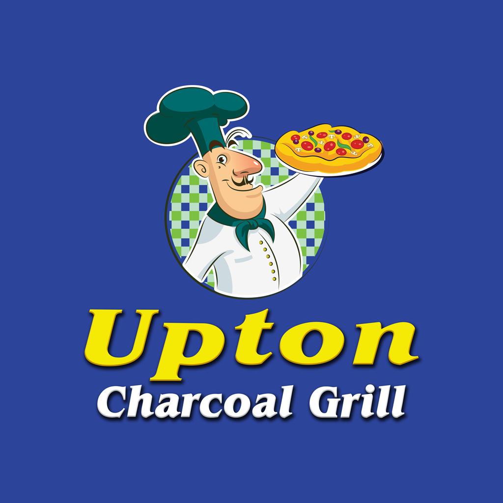 Upton Charcoal Grill Online Takeaway Menu Logo